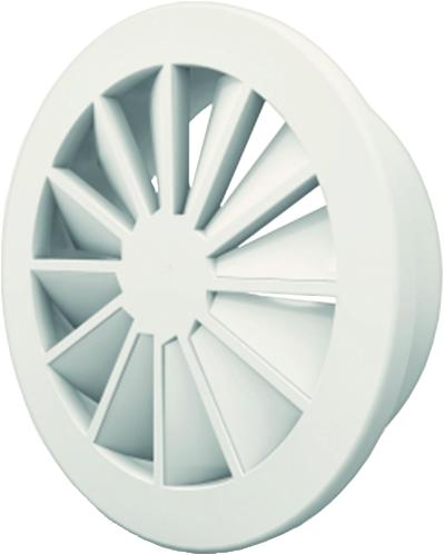 Dralldurchlass 160 mm mit Seitenanschluss nicht isolierter Anschlusskasten 125 mm - Mischfarbe RAL 9016