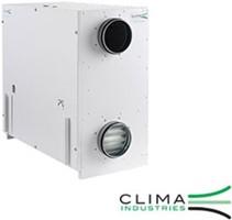 Clima Industries Zentrale Lüftungsanlage mit Wärmerückgewinnung (bis 800 m3/h)