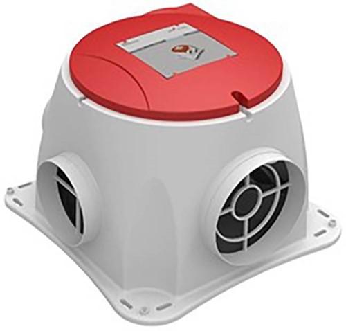 Zehnder Comfofan S R Zentralablüftungsgerät (Funkempfänger Netzstecker)