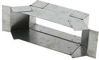 Seitenanschluss für Flachkanal 220x80